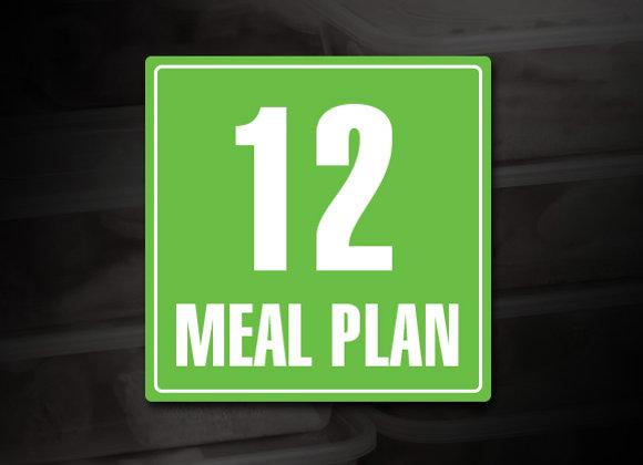 12 Meal Prep Plan