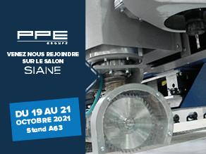 PPE GROUPE vous invite à le rejoindre sur le salon SIANE - Stand A63 - du 19 au 21 octobre 2021