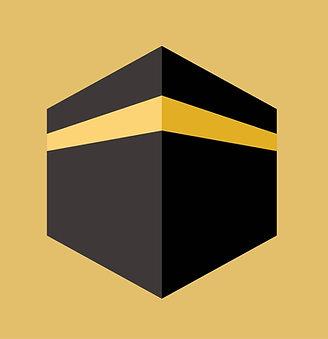 Islamic Art Print - Kabah_Cubic_0029_Digital_Art (A3 size 42cm x 30cm)