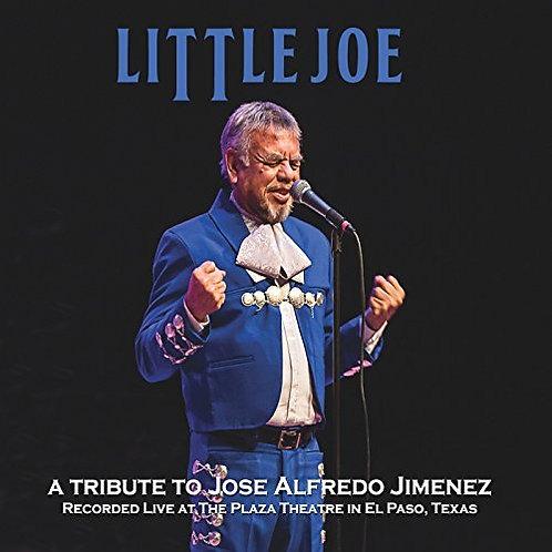 A TRIBUTE TO JOSE ALFREDO JIMENEZ (LIVE)