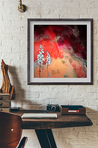 Foxglove Print