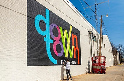 Downtown Edmond Logo Mural.jpg