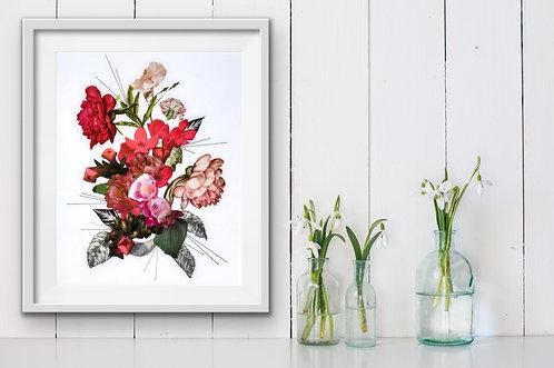 Rose Bouquet - Print