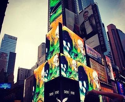 Art Takes Times Square Winner Brooke Row