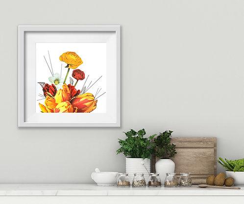 Parrot Tulip - Print