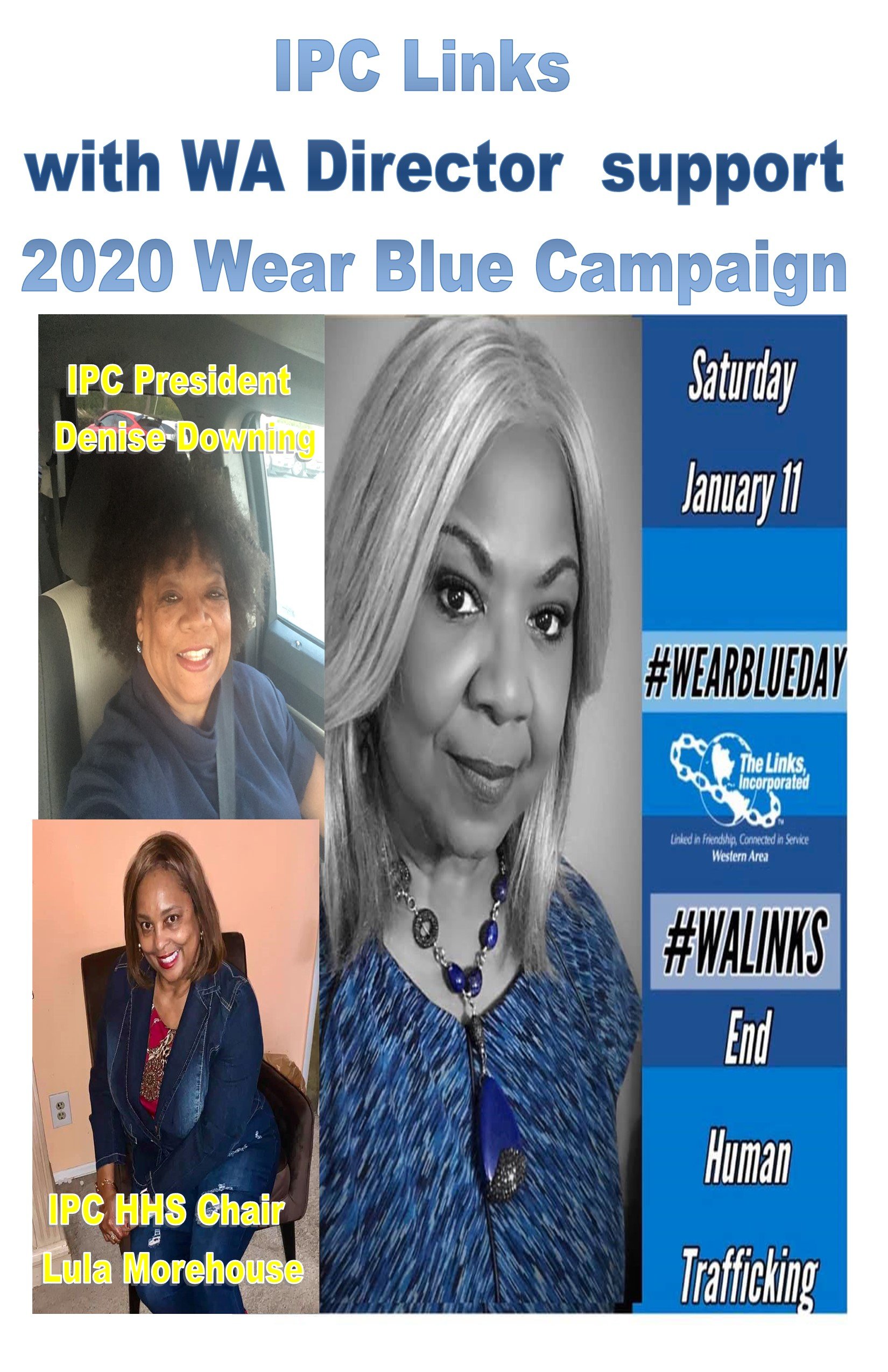 2020 IPC & WA Director Wear Blue