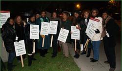 IPC Members at Sudan March