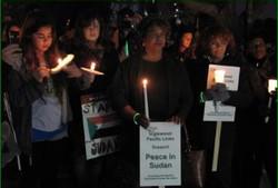 Vigil for Peace in Sudan