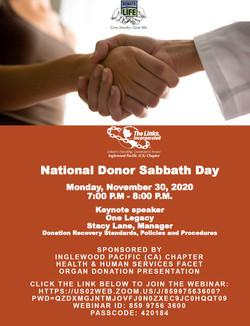 donor sabbath2020