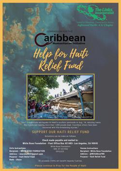 Haiti Relief Poster tjd
