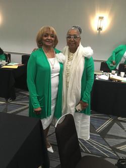 Doris Tims and Brenda LaMotte