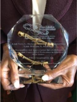 2017 ITS Award to Link Vera Ricketts