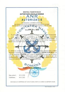 ANR Certificate