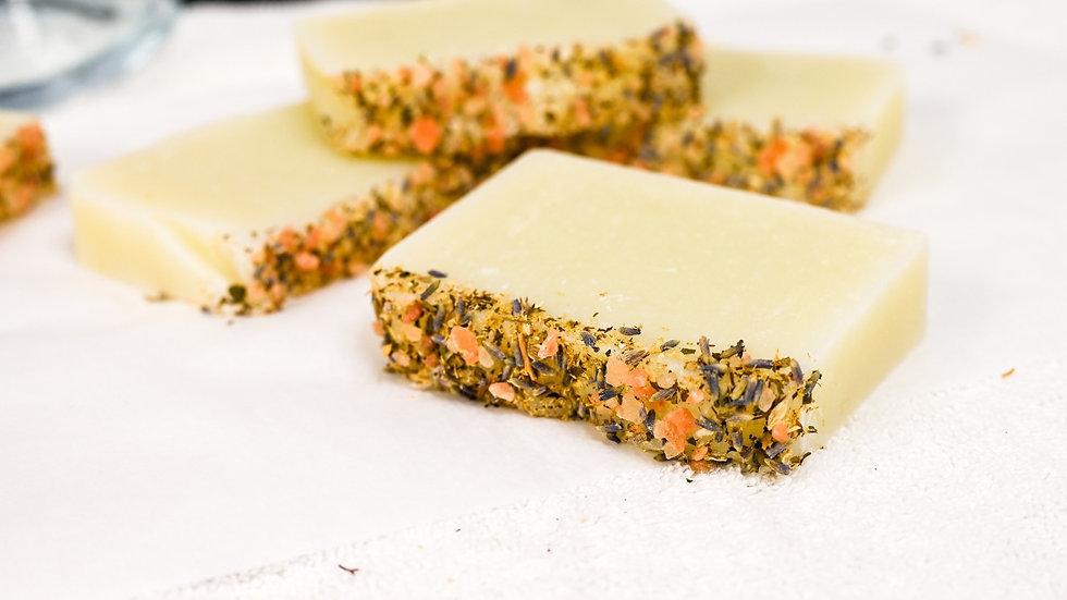 Handmade lavender soaps