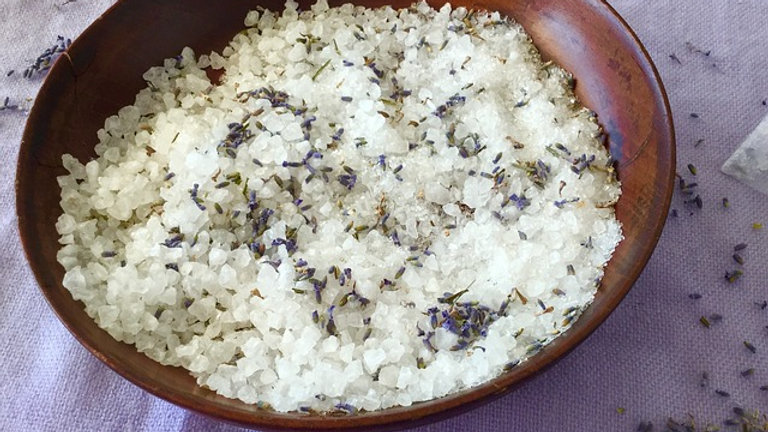 Lavender Flower Bath Salt