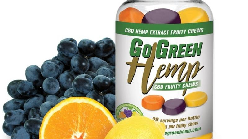 GoGreen Hemp CBD 10mg Fruity Chews