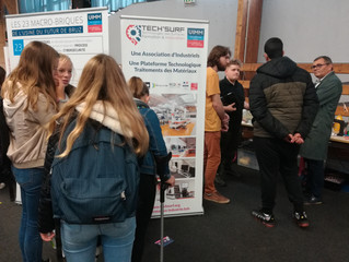 TECH'SURF et le Pôle Formation UIMM Bretagne au Salon de l'Innovation à Bains sur Oust