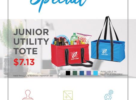 Weekly Special ~ Junior Utility Tote