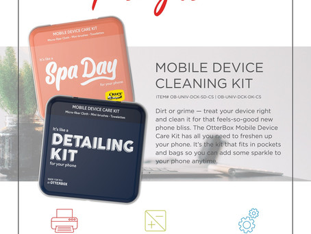 Product Spotlight ~ Mobile Device Cleaning Kit