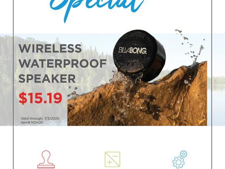 Weekly Special ~ Wireless Waterproof Speaker