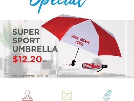 Weekly Special ~ The Super Sport Umbrella