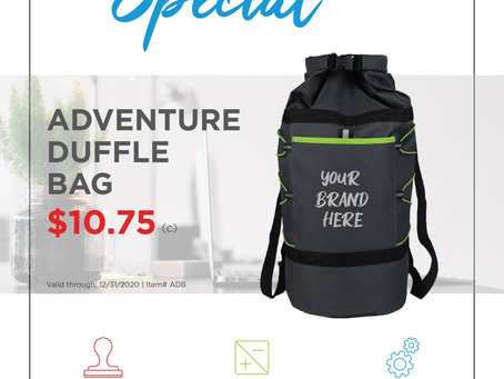 Weekly Special ~ Adventure Duffle