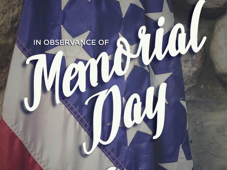 Memorial Day eGreeting 2019