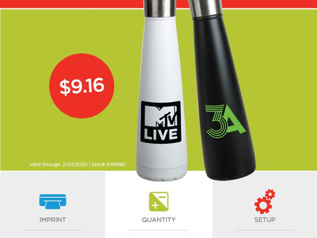 Weekly Special ~ 15 oz Insulated Bottle