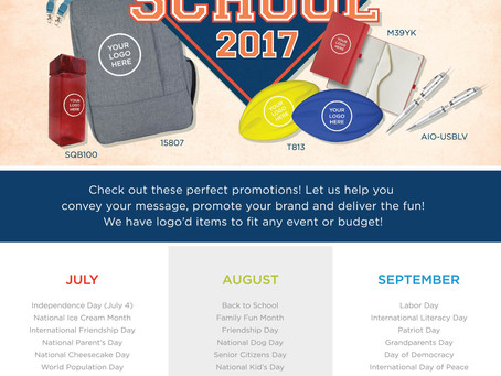 Perfection Promotions | Back to School