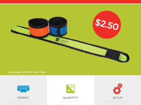 Weekly Special - LED Slap Safety Band