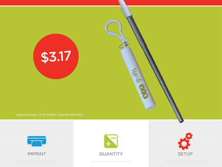 Weekly Special ~ Little Sipper Collapsible Drinking Straw