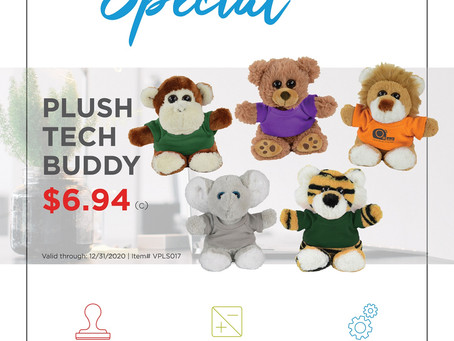 Weekly Special ~ Plush Tech Buddy