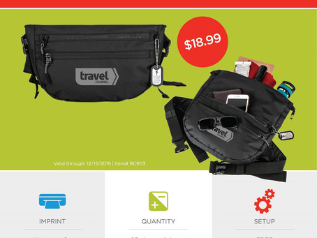Weekly Special ~ Basecamp Tahoe MountainDry Waist Pack