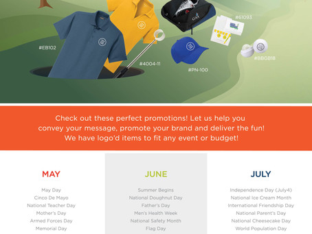 Golf Season | Perfect Promotions