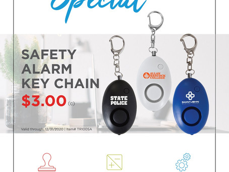 Weekly Special ~ Safety Alarm Key Chain