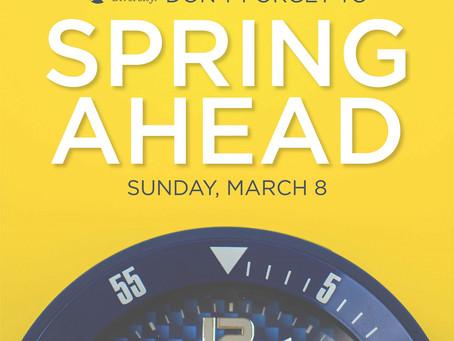 Spring Ahead eGreeting 2020