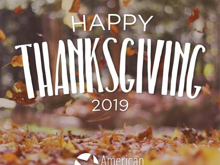 Happy Thanksgiving ~ 2019