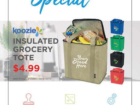 Weekly Special ~ Koozie Insulated Grocery Tote