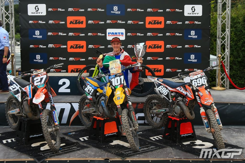 Junior world championship 125 Trento