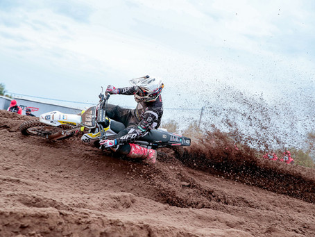 European Championship EMX250 Gp of Limburg.