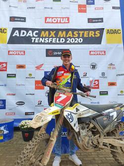 German ADAC MX Masters Tensfeld Champion