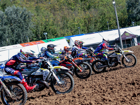 EMX250 2-stroke European Championship.