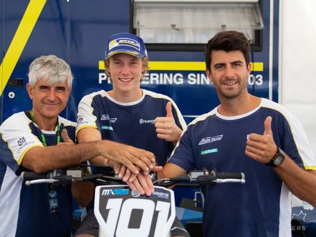 Team Maddii Racing Husqvarna and Mattia Guadagnini together also in 2019