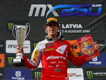 Nicholas Lapucci wins Race2 at the Latvian GP and classifies second overall