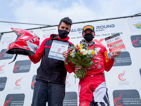 Fantic, the First Victory of a 250 2-stroke Motorcycle at the Internationals of Italy!