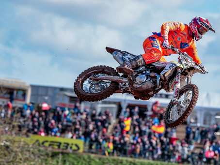 MXGP of Great Britain, excellent performance of Forato.