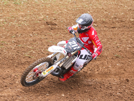 Excellent performances for Fantic Factory team Maddii at the first round of the Prestige MX Italian