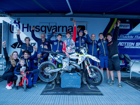 It is time for us to thank Husqvarna and all the people who made these incredible 4 seasons possible