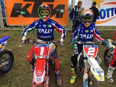 MOTOCROSS OF EUROPEAN NATIONS ITALY OBTAINED THE THIRD POSITION