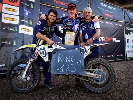 Mattia Guadagnini is the 2019 Motocross 125 European Champion. Forato selected for the Motocross of